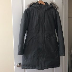 The North Face Arctic Parka - charcoal grey